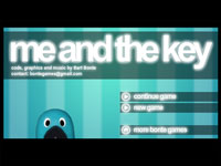 ゲーム「me and the key」